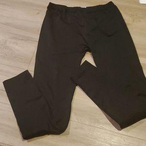 Woman's size M/L black leggings